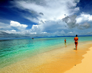 Sipadan Island, Sabah, East Malaysia, might be a nice place to recover from surgery.